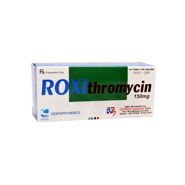 Roxithromycin Drug Uses